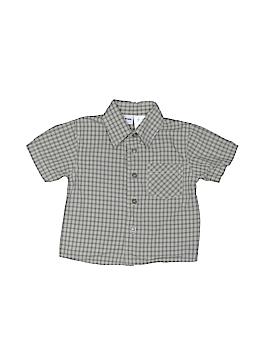 B.T. Kids Short Sleeve Button-Down Shirt Size 3-6 mo