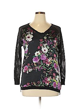 Bisou Bisou Pullover Sweater Size L