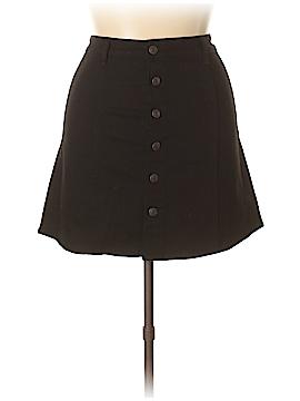 Mossimo Supply Co. Denim Skirt Size 14