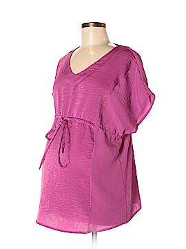 Liz Lange Maternity for Target Short Sleeve Blouse Size M (Maternity)