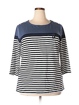 Karen Scott 3/4 Sleeve Top Size 2X (Plus)