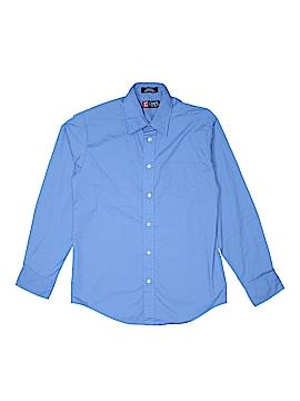 Chaps Long Sleeve Button-Down Shirt Size 14