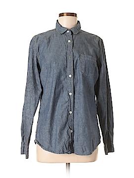 Weatherproof Long Sleeve Button-Down Shirt Size M