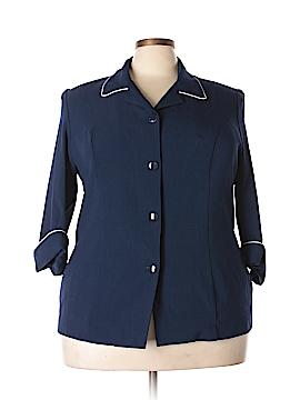 Allison Daley 3/4 Sleeve Button-Down Shirt Size 18w (Plus)