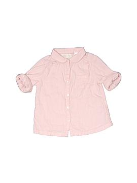 Zara Long Sleeve Button-Down Shirt Size 2 / 3