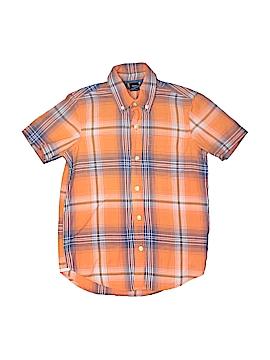 Gap Kids Short Sleeve Button-Down Shirt Size 6-7
