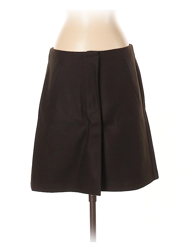 Stile Benetton Women Wool Skirt Size 40 (EU)
