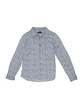 Gap Kids Outlet Long Sleeve Button-Down Shirt Size L (Kids)