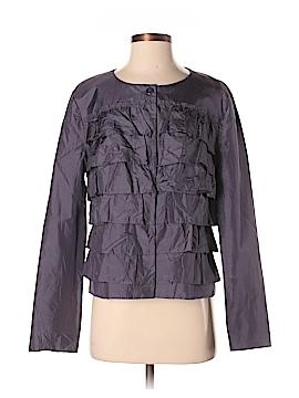 Garnet Hill Silk Blazer Size 8