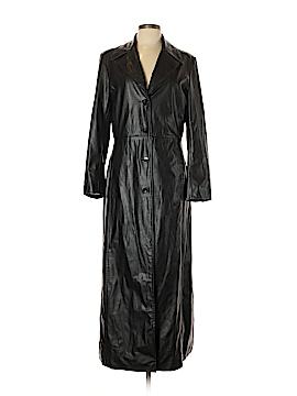 Me Jane Faux Leather Jacket Size L