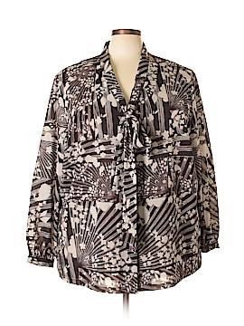 Isabel + Alice Long Sleeve Blouse Size 4X (Plus)