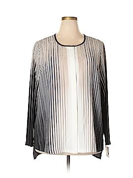 Alfani Long Sleeve Blouse Size 18 (Plus)