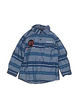 Rocawear Long Sleeve Button-Down Shirt Size 18 mo