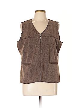 Crazy Horse by Liz Claiborne Vest Size XL