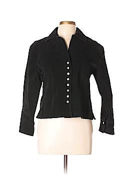 Coldwater Creek Leather Jacket Size L (Petite)