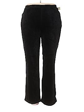 Catherines Velour Pants Size 5X (Plus)
