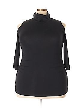7th Avenue Design Studio New York & Company 3/4 Sleeve Top Size XL