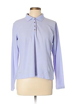 Tehama Long Sleeve Polo Size L