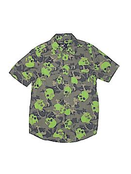 SK2 Short Sleeve Button-Down Shirt Size 8