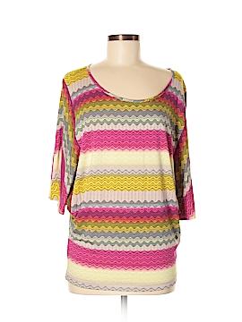 Karina Grimaldi 3/4 Sleeve Top Size M