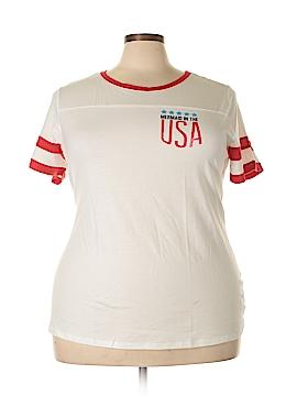Arizona Jean Company Short Sleeve T-Shirt Size 3X (Plus)