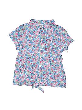 Carter's Short Sleeve Button-Down Shirt Size 7