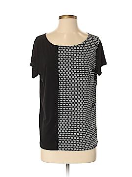 Jaclyn Smith Short Sleeve Blouse Size M
