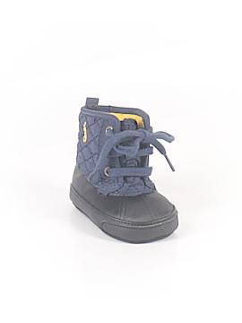 Ralph Lauren Booties Size 0-3 mo
