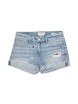 FRAME Denim Denim Shorts 25 Waist