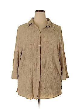 White Stag 3/4 Sleeve Blouse Size 22 - 24W (Plus)