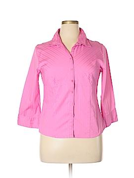 Millenium 3/4 Sleeve Button-Down Shirt Size XL