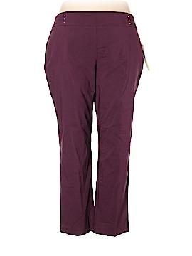 JM Collection Casual Pants Size 22 (Plus)
