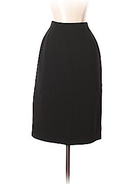 Valentino Miss V Wool Skirt Size 44 (IT)