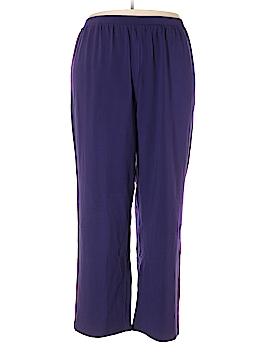 Liz & Me for Catherines Sweatpants Size 3X (Plus)