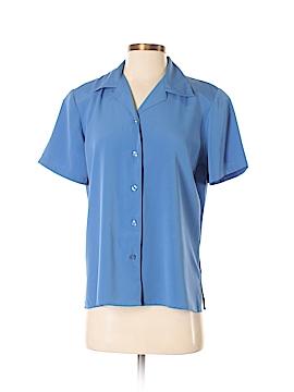 Kim Rogers Short Sleeve Blouse Size S