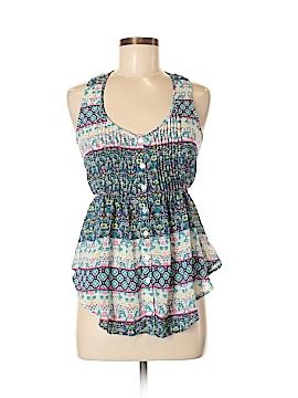 American Rag Cie Sleeveless Button-Down Shirt Size S