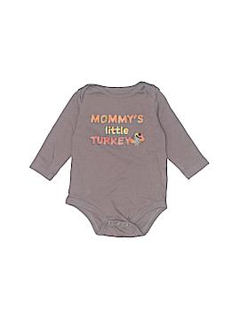 Little Wonders Long Sleeve Onesie Newborn - 6 mo