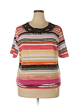 Rafaella Short Sleeve T-Shirt Size 3X (Plus)
