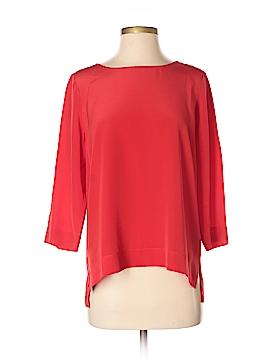 Madewell 3/4 Sleeve Silk Top Size S
