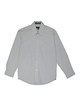 Arrow Long Sleeve Button-Down Shirt Size 12