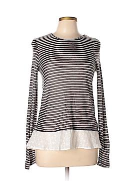 Hem & Thread Long Sleeve Top Size L