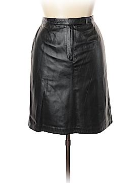 Apostrophe Leather Skirt Size 18 (Plus)