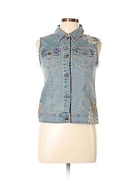 Arizona Jean Company Denim Vest Size XL