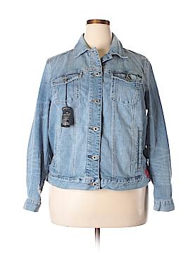 Lucky Brand Denim Jacket Size 2X (Plus)