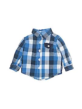 Koala Baby Long Sleeve Button-Down Shirt Size 3 mo