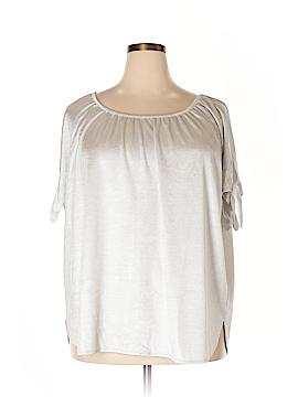 INC International Concepts Short Sleeve Top Size 3X (Plus)