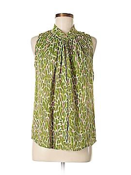 Eccoci Sleeveless Silk Top Size 6