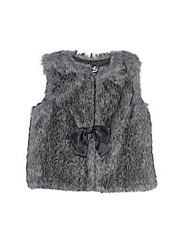 Genuine Kids from Oshkosh Faux Fur Vest Size 4T - 5T