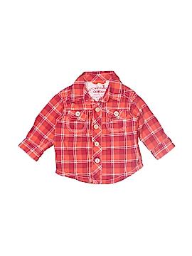 Genuine Kids from Oshkosh Long Sleeve Button-Down Shirt Size 3 mo