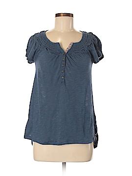 Meadow Rue Short Sleeve Henley Size XS